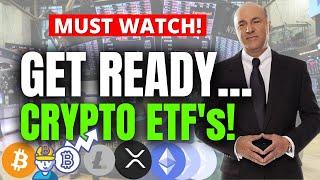 XRP BITCOIN ETHEREUM ETF's ARE COMING!! THE CRYPTO HOLY GRAIL! | Kevin O'leary