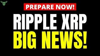 Ripple XRP THIS IS BIG!!! GET READY: A Resolution Date Is Coming!