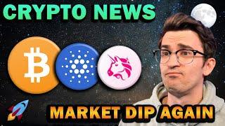 CRYPTO NEWS - MARKET DIP!!! Big Things Coming