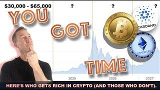 WHY YOU'VE GOT MORE TIME TO MAKE LIFE ALTERING MONEY IN CRYPTO.