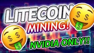 Litecoin Mining - How to Mine Litecoin Using an Nvidia GPU [ccMiner 1.8.3] [STILL WORKS IN 2021]