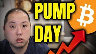 BITCOIN & CRYPTO PUMP!!! 3 FAVORITE ALTCOINS YOU DON'T WANT TO MISS!!!