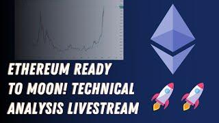 ETHEREUM READY to MOON!?! Bitcoin and Ethereum Watch Party LIVE