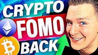 BITCOIN AND ETHEREUM BOUNCING NOW!! [FOMO KICKS IN] Ivan on Tech