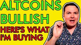 URGENT! ALTCOINS MEGA BULLISH! HERE'S WHAT CRYPTO I'M BUYING NOW! 100X GAINS COMING! [You Ready?]