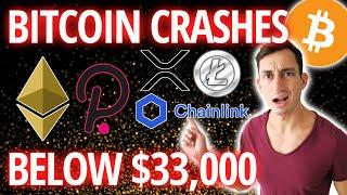 BREAKING BITCOIN CRASHING! Crypto Update   Here's What I Am Doing Right Now...
