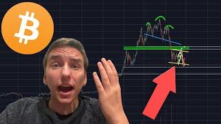 THIS BITCOIN PATTERN COULD BE THE BIGGEST MOVE THIS YEAR!!!!