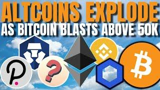 Altcoin & Bitcoin MADNESS!!! Our Pick SOARS 500%+ IN 24HRS