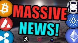 7 ALTCOINS PRIMED FOR BIG MOVES! CARDANO vs ETHEREUM! XRP RELISTED ON COINBASE? [CRYPTO NEWS]