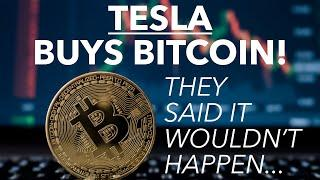 Breaking: Tesla Buys $1.5B Bitcoin | Elon Musk's New Big Bet Is On Crypto | They Said He Never Would
