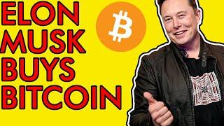 ELON MUSK BUYING BITCOIN EXPLAINED, MAJOR FOMO HAPPENING! [Crypto News 2021]