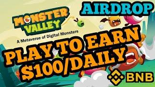 MonsterValley | New Upcoming Play To Earn Blockchain Game | CryptoBlades | BSC | Gyanshadow