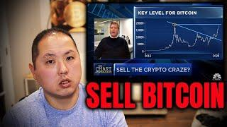 CNBC 'Chartmaster' Says SELL Bitcoin Under $20,000