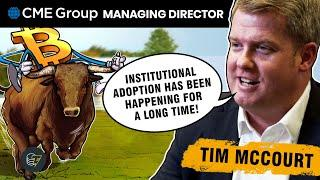 'The definition of institutional money has evolved' during the Bitcoin era | CME managing director