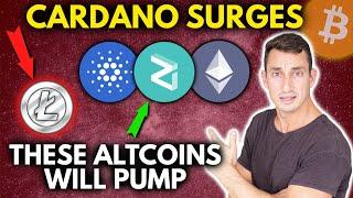 CRYPTO BULLISH NEWS! Cardano Coinbase Pump! Cheap Ethereum! Litecoin Dead? Binance Burn Boom?!