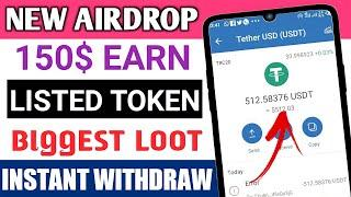 new airdrop instant withdraw, free claim 150$ immediately in trust wallet, free 150$ token claim