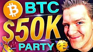 BITCOIN RUNNING FOR $50,000 RIGHT NOW!!! Ivan on Tech