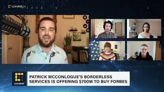 $700M Forbes Bidder Plans Crypto Future for Storied Media Brand | First Mover - CoinDesk TV