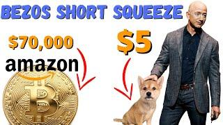 Bezos SHORT SQUEEZE from Twitter/Amazon could lead Dogecoin, Ethereum to 5X. HUGE CATALYST