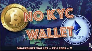 ShapeShift Now is a DEX with NO KYC for BITCOIN & Crypto SWAPS. But, ETHEREUM FEES ARE ASTRONOMICAL!