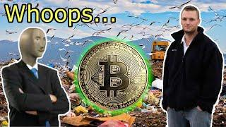 $270 Million Of Bitcoin LOST In A Landfill