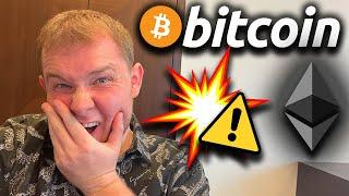 ️ VERY IMPORTANT ️HUGE WARNING IN THE CHARTS FOR BITCOIN & ETHEREUM TODAY!!!!!!!!!!!!!