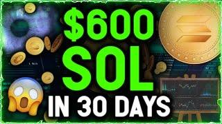 $600 SOL IN 30 DAYS! HUGE PUMP incoming as Solana Chart Shows Most Important Signal