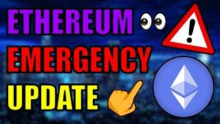 ️EMERGENCY ETHEREUM UPDATE! ETH 100% GOING HIGHER! CHAINLINK EXPLODING! Bitcoin Cryptocurrency News