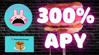 PANCAKE BUNNY & PANCAKESWAP ARE ON FIRE  - HOW TO  EARN 300% APY FROM FARMING AND STAKING