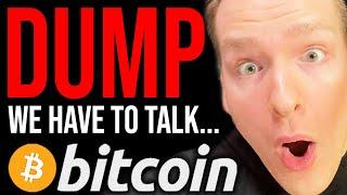 BITCOIN BIG DUMP RISK!!!!! THIS IS SERIOUS - WATCH FAST!! Programmer explains