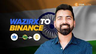 How To Transfer funds from Wazirx to Binance - Indian  Crypto Exchanges Tutorial