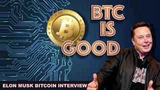 ELON MUSK INTERVIEW REVEALS THE TESLA CEO IS BIG ON BITCOIN. MASS ADOPTION SOON. XRP PUMP...& DUMP