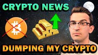 Selling all my Cryptocurrency... I'm done.