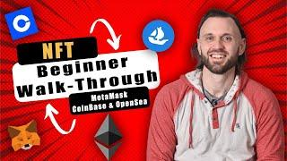 How To Buy Ethereum, Install MetaMask And Connect to OpenSea (NFT Beginner Walk-Through)