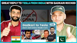 Gadkari tells Elon Musk. Don't sell 'China Made' Tesla cars in India. Assures full support to Tesla
