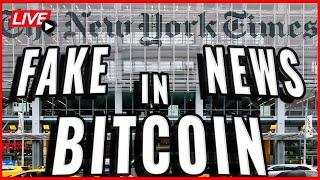 Finance Officials are trying to use fake news to bring down the Bitcoin Price! Coffee N Crypto Live