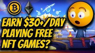 Top 5 Crypto NFT Games - Part 2   Play to Earn Crypto Blockchain Games