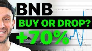 BNB BECOMES TOP 3 CRYPTO, BUY OR DROP?