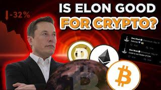 Is Elon Musk GOOD or BAD for Bitcoin Dogecoin and Cryptocurrency?