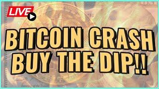 Bitcoin Price Crash: An AMAZING OPPORTUNITY! This is how Millionaires are made! Coffee N Crypto Live