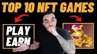 Top 10 Most Trending NFT Crypto Games  Play & Earn