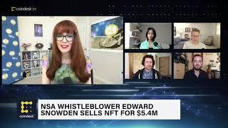Edward Snowden Sells NFT For $5.4M | The Hash - CoinDesk TV