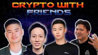 Crypto with Friends: Crypto transfers over 10K to be reported to IRS. Will crypto ever recover?
