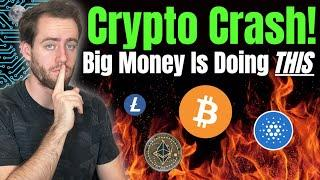 Cryptocurrency Crash! Time To Sell Bitcoin and Ethereum Now?!
