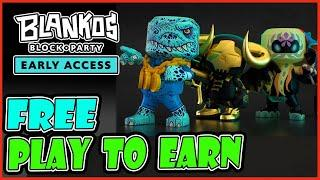 FREE PLAY TO EARN CRYPTO BLANKO'S BLOCK PARTY(TAGALOG)  BEST NFT GAME BLOCKCHAIN GAMES GOOD GRAPHICS