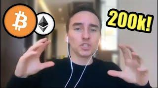BE READY: Expert Trader Explains How One Bitcoin Could Equal $200,000 in 2021 | The Moon Interview