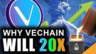Vechain Volcano: Why VET Can 20x in 2021