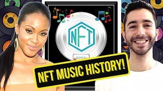 How Shontelle Is Making NFT Music History