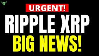 Ripple XRP THIS IS BIG!!! GET READY FOR THIS!