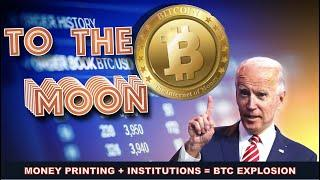 Will Joe Biden PUSH This BITCOIN & CRYPTO BULL RUN TO THE STRATOSPHERE? INSTITUTIONS say YES!